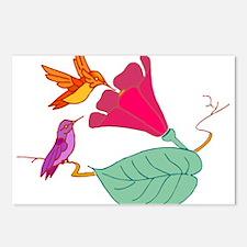 Hummingbirds 1 Postcards (Package of 8)