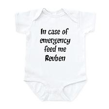 Feed me Reuben Infant Bodysuit