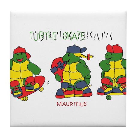 cool turtles ninja Tile Coaster