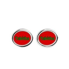 Tabitha Red and Green Cufflinks