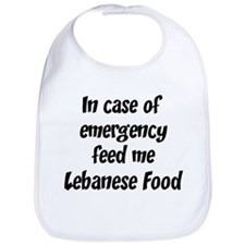 Feed me Lebanese Food Bib