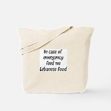 Feed me Lebanese Food Tote Bag