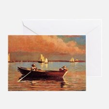 Winslow Homer - Gloucester Harbor Greeting Card