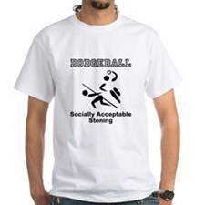 Socially Acceptable Stoninig T-Shirt