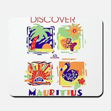 discover mauritius Mousepad