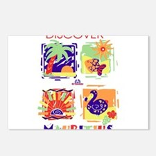 discover mauritius Postcards (Package of 8)