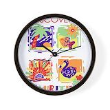 Dodo mauritius Wall Clocks