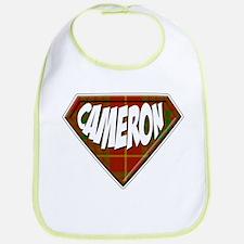 Cameron Superhero Bib
