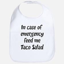 Feed me Taco Salad Bib