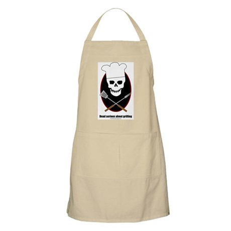 Dead serious about grilling BBQ Apron