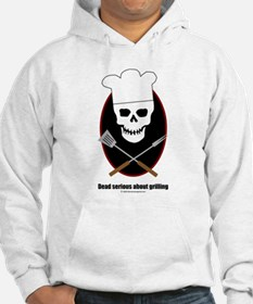 Dead serious about grilling Hoodie