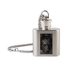 Digital Frankenstein Monster Flask Necklace