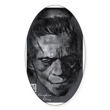 Digital Frankenstein Monster Decal