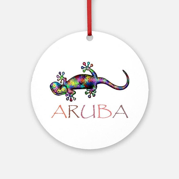 Aruba.Png Ornament (Round)