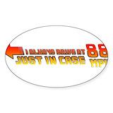 88mph Bumper Stickers