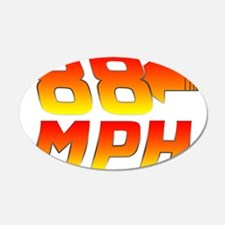 88 MPH Wall Decal