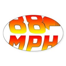 88 MPH Decal