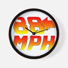 88 MPH Wall Clock
