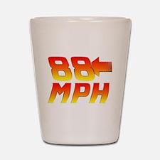 88 MPH Shot Glass
