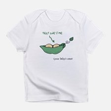 Funny Two peas Infant T-Shirt