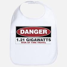 Danger 1.21 Gigawatts Bib