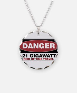 Danger 1.21 Gigawatts Necklace