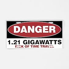 Danger 1.21 Gigawatts Aluminum License Plate
