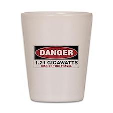 Danger 1.21 Gigawatts Shot Glass