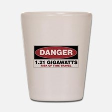 Danger 1.21 Gigawatts Shot Glass
