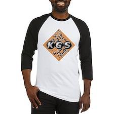 kgsLogo-tiltedBoard-big Baseball Jersey