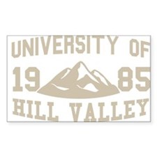 University of Hill Valley Decal