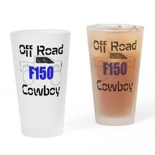 Off Road Cowboy Drinking Glass