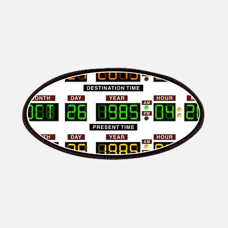 BTTF Time Clock Patches