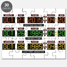 BTTF Time Clock Puzzle