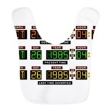 Back to future Fleece Bibs