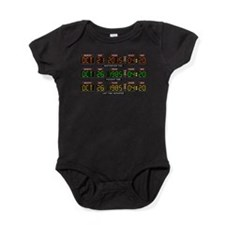 BTTF Time Clock Baby Bodysuit