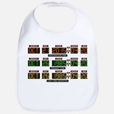 BTTF Time Clock Bib