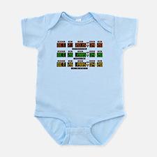 BTTF Time Clock Infant Bodysuit