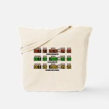 BTTF Time Clock Tote Bag