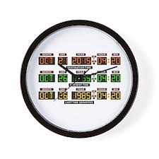 BTTF Time Clock Wall Clock