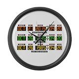 Backtothefuturemovie Giant Clocks