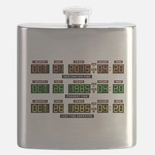 BTTF Time Clock Flask