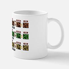 BTTF Time Clock Mug