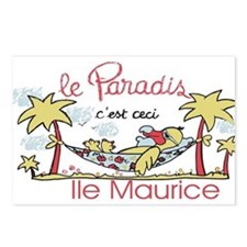 dodo in paradise island Postcards (Package of 8)