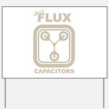 BTTF Flux Capacitor Yard Sign