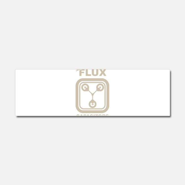 BTTF Flux Capacitor Car Magnet 10 x 3