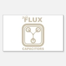 BTTF Flux Capacitor Decal