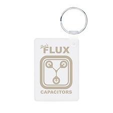BTTF Flux Capacitor Keychains