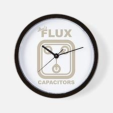 BTTF Flux Capacitor Wall Clock