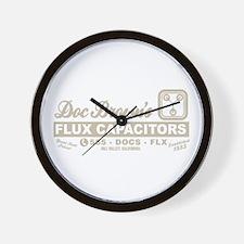 Doc Brown's Flux Capacitors Wall Clock